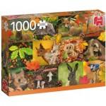 Puzzle  Jumbo-18863 Autumn Animals