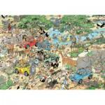 Jumbo-19001 2 Jan Van Haasteren Puzzles: Safari & Storm