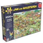 Puzzle  Jumbo-19021 Jan Van Haasteren - Lawn Mower Race