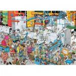 Puzzle  Jumbo-19025 Jan Van Haasteren - Candy Factory