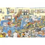 Puzzle  Jumbo-19039 Jan Van Haasteren: The Printing Office