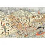 Puzzle  Jumbo-19040 Jan Van Haasteren - New Year's Dip