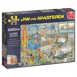 Puzzle  Jumbo-19050 Jan van Haasteren - Technical Highlights