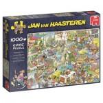 Puzzle  Jumbo-19051 Jan van Haasteren - The Holiday Fair