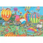 Puzzle  Jumbo-19053 Jan van Haasteren - The Balloon Festival