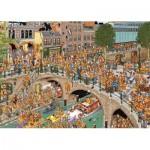 Puzzle  Jumbo-19054 Jan Van Haasteren - King's Day