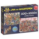 Jumbo-19058 2 Puzzles - Jan Van Haasteren