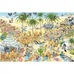 Puzzle  Jumbo-19059 Jan Van Haasteren - The Oasis