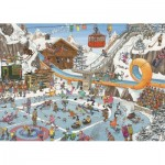 Puzzle  Jumbo-19065 Jan Van Haasteren - The Winter Games