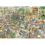 Puzzle  Jumbo-19066 Jan Van Haasteren - The Garden Centre