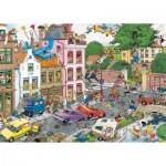 Puzzle  Jumbo-19069 Jan Van Haasteren - Friday the 13th
