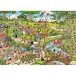 Puzzle  Jumbo-19070 XXL Pieces - Jan Van Haasteren - The Park