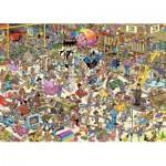 Puzzle  Jumbo-19073 Jan Van Haasteren - The Toy Shop