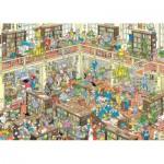Puzzle  Jumbo-19092 Jan Van Haasteren - The Library