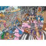Puzzle  Jumbo-19125 Wasgij Destiny 16: Old Time Rockers