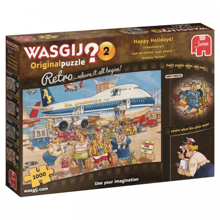 Wasgij Original Retro 2 - Happy Holidays!
