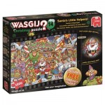 Puzzle  Jumbo-19162 Wasgij Christmas 14 - Santa's Little Helpers!