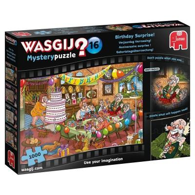 Puzzle Jumbo-19165 Wasgij Mystery 16 - Birthday Surprise!