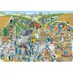 Puzzle  Jumbo-19198 Jan van Haasteren - The Winery