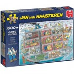 Puzzle  Jumbo-20021 Jan Van Haasteren - Cruise Ship