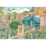 Puzzle  Jumbo-20023 Jan Van Haasteren - The Art Market