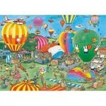 Puzzle  Jumbo-20024 Jan van Haasteren - Hooray, miffy 65 years