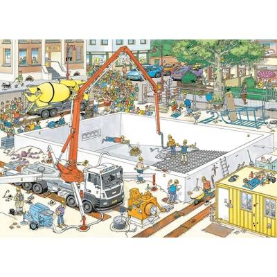 Puzzle Jumbo-20037 Jan van Haasteren - Almost Ready?