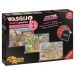 3 Jigsaw Puzzles - Wasgij Destiny - Collector's Box 1