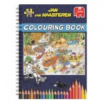 Jumbo-6800 Jan Van Haasteren - Colouring Book - Volume 1