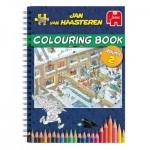 Jumbo-6813 Jan Van Haasteren - Colouring Book - Volume 2