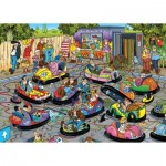 Puzzle   Jan Van Haasteren - Bumper Cars