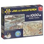 Puzzle   Jan van Haasteren - Eleven City Icetour & New Year's Dip