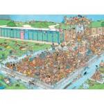 Puzzle   Jan van Haasteren - Pool Pile-Up