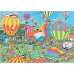 Puzzle   Jan van Haasteren - The Balloon Festival