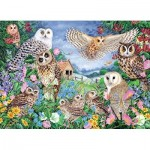 Puzzle   Owls in the Woods