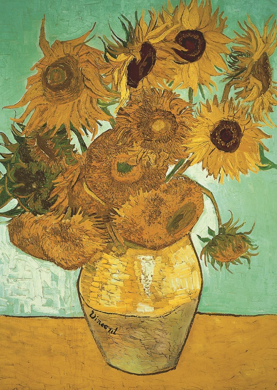 Puzzle Vincent Van Gogh Sunflowers Jumbo 18396 500