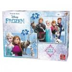 2 Jigsaw Puzzles - Frozen