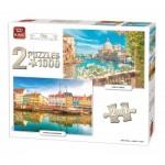 2 Puzzles - City Collection