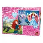 2 Puzzles - Disney Princess