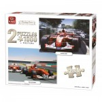 2 Puzzles - Racing Cars Collection
