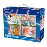 4 Puzzles - Animal Friends Disney