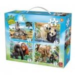 4 Puzzles - Animal World