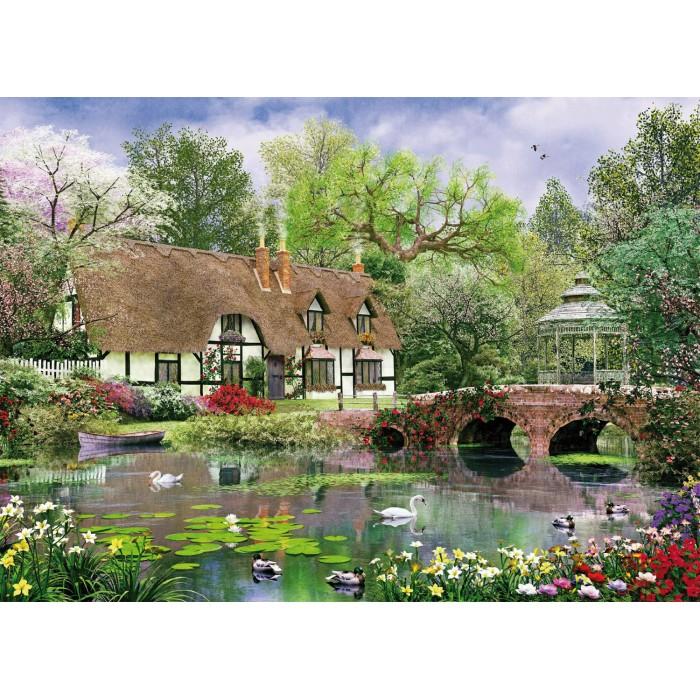 April Cottage Puzzle 1000 pieces
