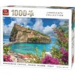 Puzzle   Argonese Castle, Ischia Island, Italy