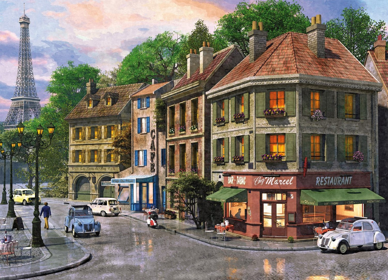 Dominic Davison: Paris Street 1000 piece jigsaw puzzle