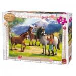 Puzzle   Girls & Horses