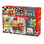 Kiddy Puzzles - 5 in 1