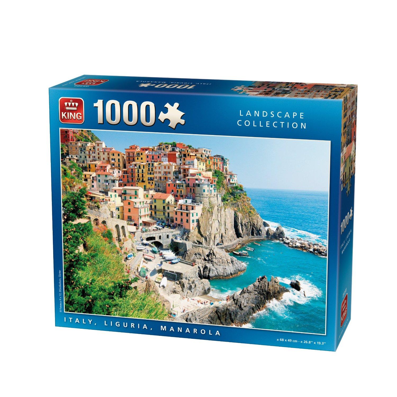 puzzle manarola italien kingpuzzle05199 1000 pieces