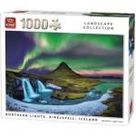 Puzzle   Northern Lights, Kirkjufell, Iceland
