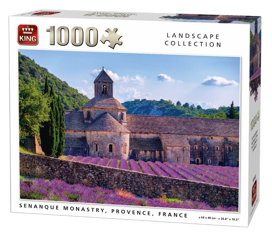 Notre-Dame de Sénanque, France 1000 piece jigsaw puzzle